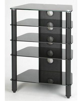 Jual Furnishings AV Support / TV Stand - Black / Black