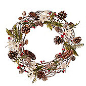 Twig Star Christmas Door Wreath