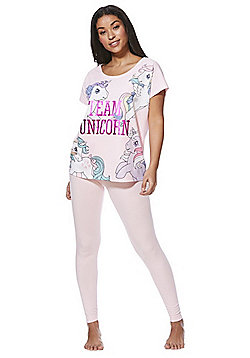 Hasbro My Little Pony Team Unicorn Pyjamas - Pink