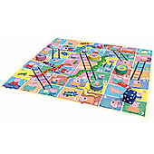 Jumbo Games Peppa Pig Giant Snakes & Ladders
