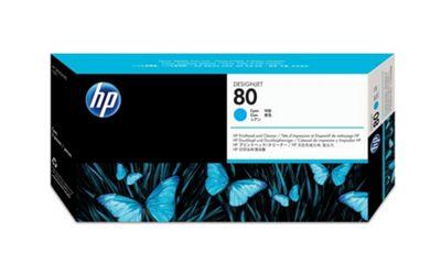 HP Printer ink cartridge for Designjet 1000 - Cyan