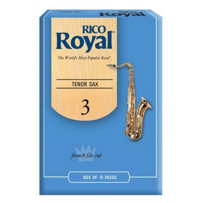 Rico Royal 3 Tenor Sax Reed (x10)
