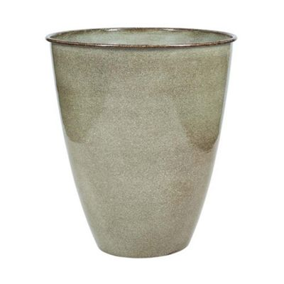 Bahne Plant Pot Decorative Metal Large in Green