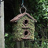 Two Storey Bush Wood Bird Nesting Box