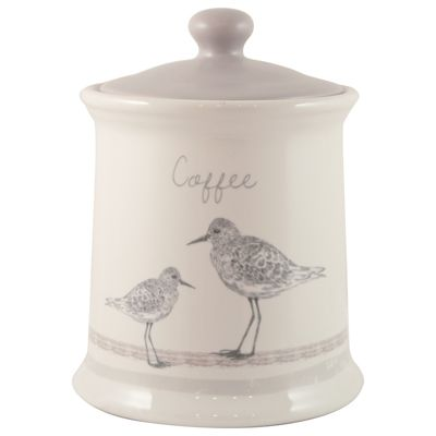 English Tableware Co. Sandpiper Coffee Canister