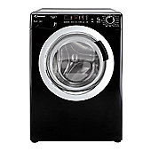 Candy Washing Machine, GVS1410DC3B, 10kg load with 1400 rpm - Black with Chrome Door