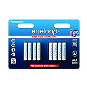 Panasonic Eneloop Rechargeable 750mAh Batteries AAA 8 pack