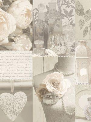 Charlotte Floral Wallpaper - Neutral - 665203 Arthouse