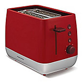 Morphy Richards 221109 Chroma 2 Slice Toaster - Red
