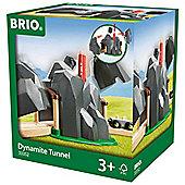 Brio 33352 Dynamite Train Tunnel For Wooden Train Set