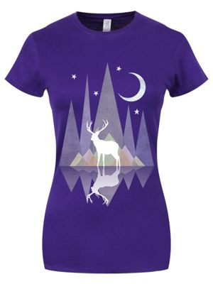 Twilight Reflection Purple Women's T-shirt