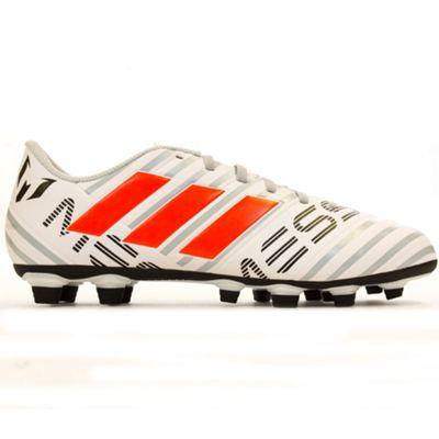 adidas Nemeziz Messi 17.4 FxG Firm Ground Mens Football Boot Pyro Storm - UK 8