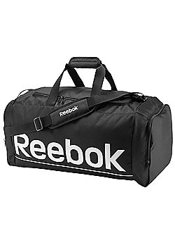 Reebok Sport Royal Medium Grip Holdall Duffel Bag - Black