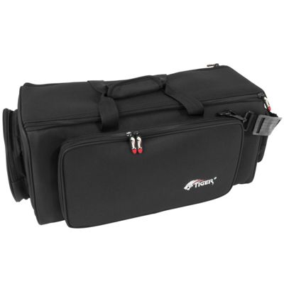 Tiger Double Padded Trumpet Gig Bag - Black Case