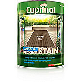 Cuprinol Anti Slip Decking Stain - Natural Oak - 5 Litre