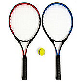 "Mantis Tennis 27"" Player Set - 2 x Rackets 1 x Ball And Carry Case"