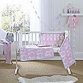 Clair de Lune 2pc Crib Bedding Set (Rabbits)
