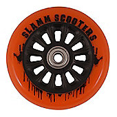 Slamm 100mm Nylon Core Wheel + Bearings - Black / Orange