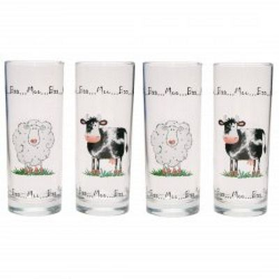 Home Farm Glasses - Pack of Four Tumblers