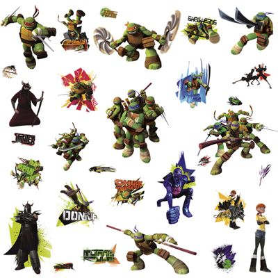 Nickelodeon Teenage Mutant Ninja Turtles Wall Stickers