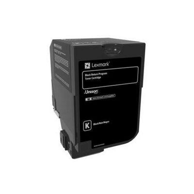 Lexmark 3K Black Return Program Toner Cartridge (CS72x