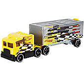 Hot Wheels City Track Stars Trucking Transporter