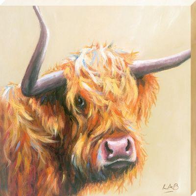 Louise Brown I Need a Haircut Canvas Print 40 x 40cm