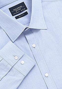 F&F Slim Fit Long Sleeve Shirt - Blue