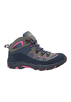 Mountain Warehouse Oscar Kids Walking Boots - Blue
