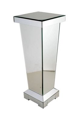 Stylish and Modern Mirror Small Pedestal/Lamp Stand - Home Decor