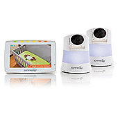 """Summer Infant Wide View 2.0 Duo Digital Video Monitor 5"""" Screen"""