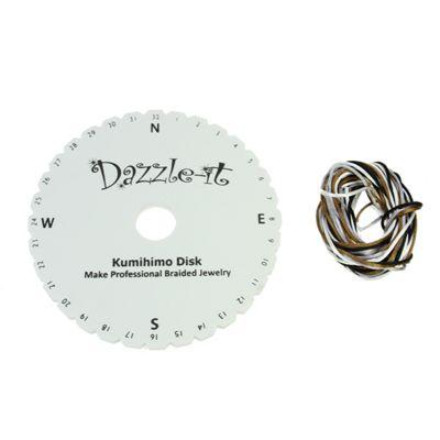 Kumihimo Braiding Disk & Rattail