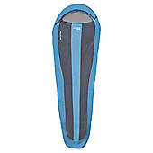 Yellowstone 300gsm Mummy Sleeping Bag Blue