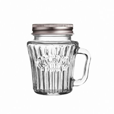 Kilner Vintage Handled Mini Jar, 110ml, (Transparent)