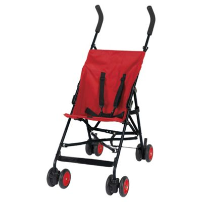 Tesco My Baby Stroller, Red.