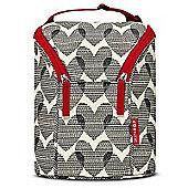 Skip Hop GRAB & GO Double Bottle Bag (Hearts)