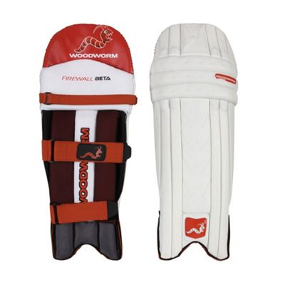 Woodworm Firewall Beta Cricket Batting Pads - Youths Left Hand