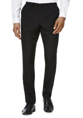 F&F Slim Fit Trousers 38 Waist 35 Leg Black