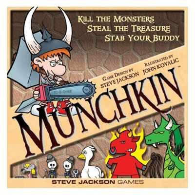 Munchkin Deluxe - Card Game