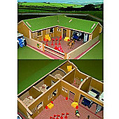 Brushwood Bt8300 The Stable Yard - 1:32 Farm Toys