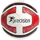 Precision Santos Training Ball White/Red/Black Size 5