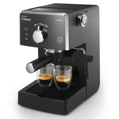 Philips Cucina Coffee Maker : Buy Philips Saeco HD8323/38 Poemia Coffee Machine - Black from our Filter Coffee Machines range ...
