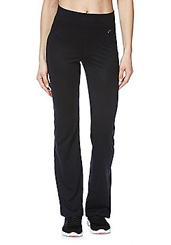 F&F Active Bootcut Leggings - Black