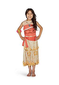 Disney Moana Fancy Dress Costume - Beige