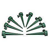 Bottle Irrigation Kit With Tap Adjusted Flow (Set of 8)