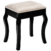 Beautify Padded Dressing Table Stool - Black