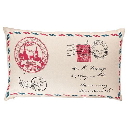 Best Of British Stamp Cushion