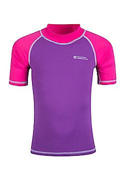 Mountain Warehouse Short Sleeved Kids Rash Vest ( Size: 3-4 yrs )