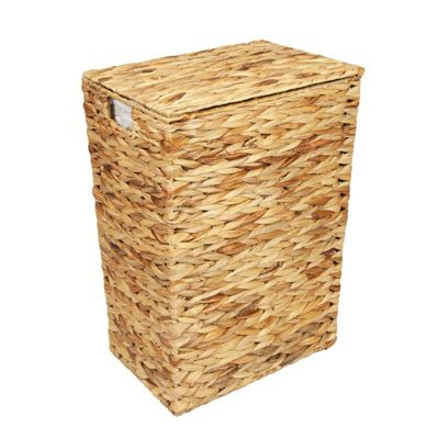 Woodluv Water Hyacinth Laundry Storage Basket - Medium