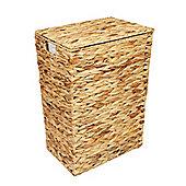 Woodluv Water Hyacinth Laundry Storage Basket - Medium